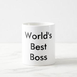 Caneca cerâmica do melhor chefe do mundo