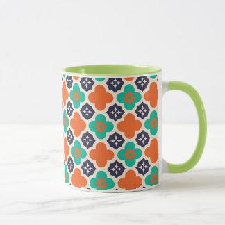 Caneca cerâmica marroquina da campainha do design