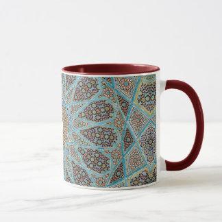 Caneca cerâmica velha marroquina da campainha do