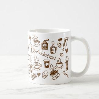 Caneca Coffee Addiction