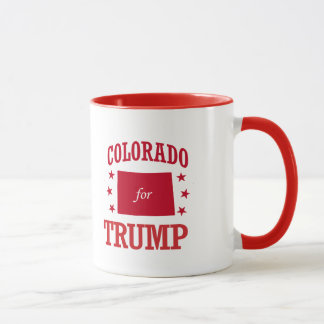CANECA COLORADO PARA DONALD TRUMP