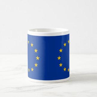 Caneca com a bandeira da União Europeia