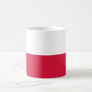 Caneca com a bandeira do Polônia