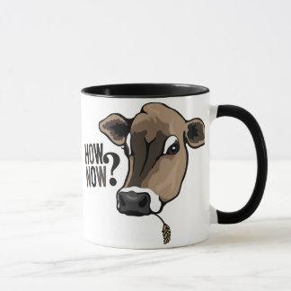 Caneca Como agora vaca de Brown?