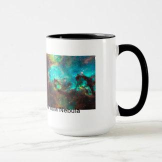 Caneca Copo da nebulosa do Tarantula