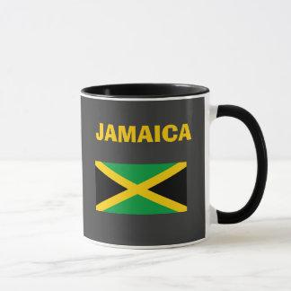 Caneca Copo do código de país de Jamaica JM