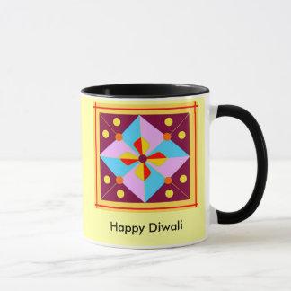 Caneca Copo feliz de Diwali