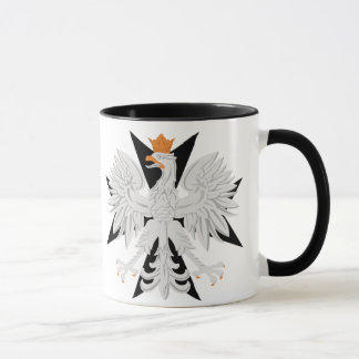 Caneca Cruz maltesa polonesa de Eagle