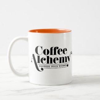 Caneca da alquimia do café