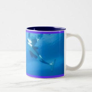 Caneca da baleia de assassino