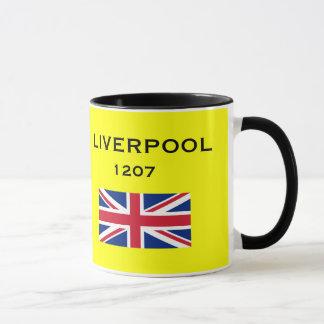 Caneca da brasão de Liverpool*