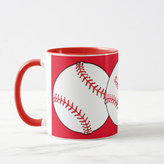 Caneca da campainha da mamã do softball