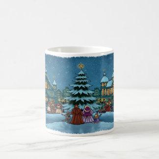 caneca da cidade do Natal básica
