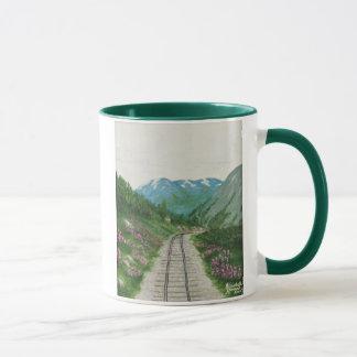 Caneca da estrada de ferro de Skagway