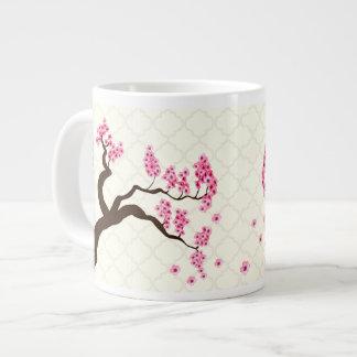 Caneca da extra grande da árvore da flor de jumbo mug