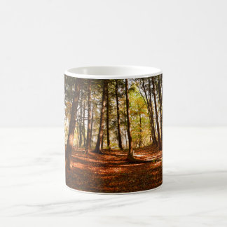 Caneca da foto da floresta