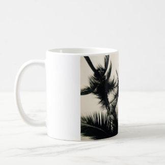 Caneca da fotografia das palmeiras