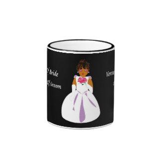"""Caneca da """"noiva"""" - customizável"""