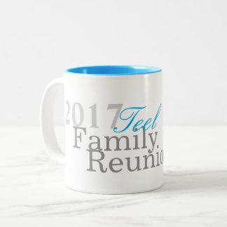 Caneca da reunião de família 2017 de Teel