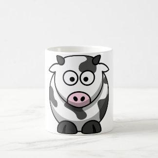 Caneca da vaca dos desenhos animados
