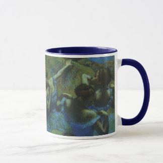 Caneca Dançarinos azuis por Edgar Degas, impressionismo
