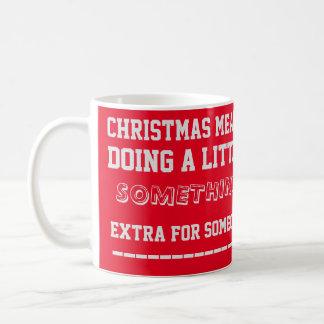 Caneca das citações do Natal