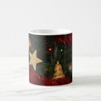 Caneca das decorações da árvore de Natal