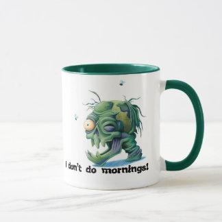 Caneca das manhãs do monstro