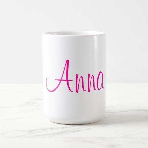 """Caneca de """"Anna"""""""