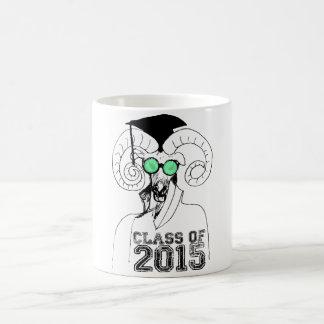 Caneca De Café 2015 anos dos carneiros - classe do formando 2015