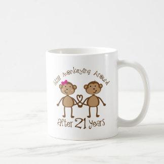 Caneca De Café 2ø Presentes do aniversário de casamento