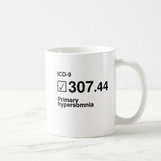 Caneca De Café 307,44, hypersomnia preliminar