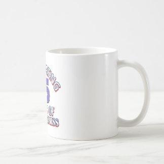 Caneca De Café 55th design do aniversário dos anos de idade
