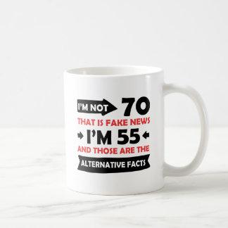 Caneca De Café 55th presentes de aniversário dos anos de idade
