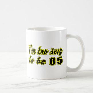 Caneca De Café 65 designs do aniversário