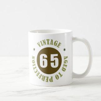 Caneca De Café 65th Ideias do presente de aniversário