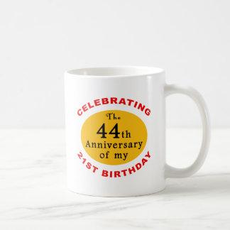 Caneca De Café 65th Presentes da mordaça do aniversário