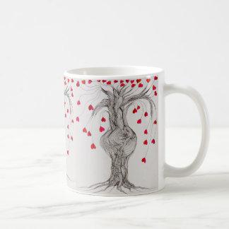 Caneca De Café A árvore de Pregnat de loven