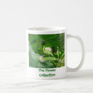 caneca de café, a coleção da flor