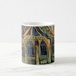 Caneca De Café A igreja em Auvers por Vincent van Gogh