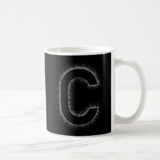 Caneca De Café A letra C
