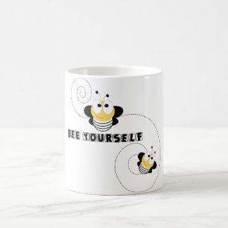 Caneca De Café abelha você mesmo