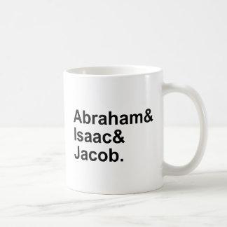 Caneca De Café Abraham Isaac Jacob | 3 patriarcas do judaísmo