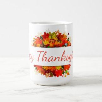 Caneca De Café Acção de graças feliz