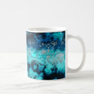 Caneca De Café Ágata azul