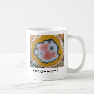 Caneca De Café Ágata de Kentucky! Centro cor-de-rosa