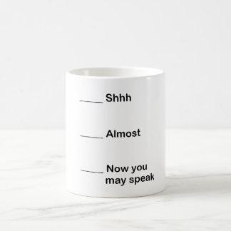 Caneca De Café Agora você pode falar