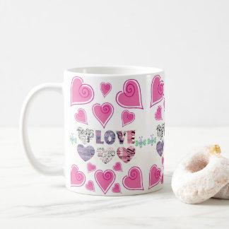 Caneca De Café agride o amor do dia dos namorados