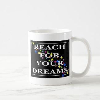 Caneca De Café Alcance para seus sonhos