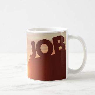Caneca De Café Alcance para um trabalho
